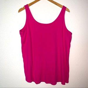 Lane Bryant (22/24) Pink Tank Top